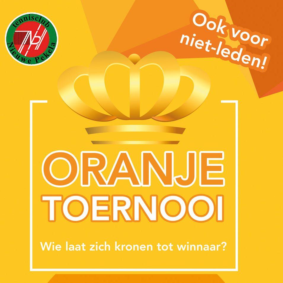Oranje toernooi 2018