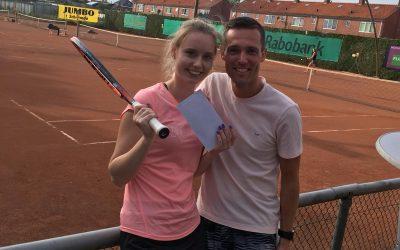 Paulien en Sven verrassende winnaars op eerste toernooi